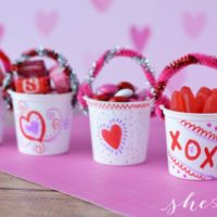 K-cup Upcycle Craft: Make Valentine Treat Holders