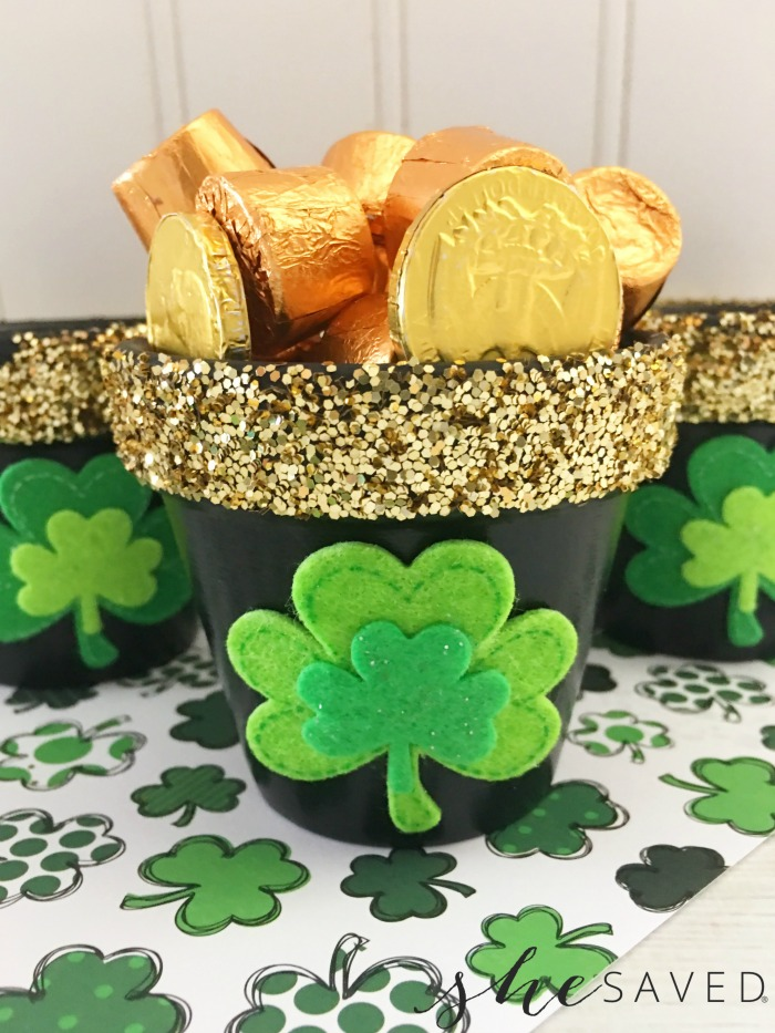 Shamrock Pot of Gold