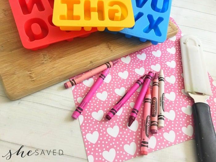 Homemade Crayons