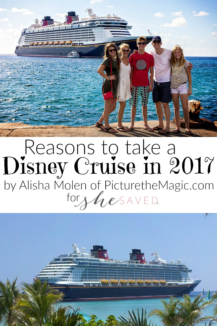If you are considering a 2017 Disney Cruise, here are some great reasons to get that trip booked!
