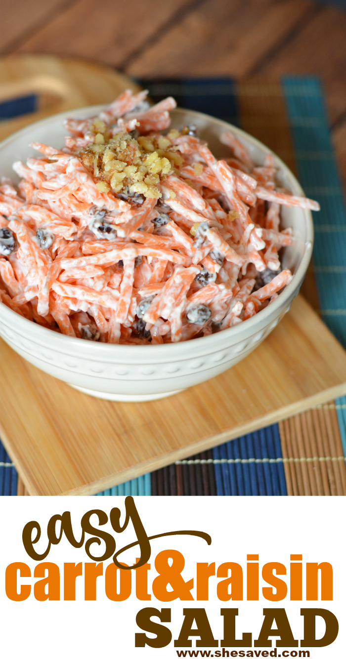 Easy Carrot Raisin Salad recipe
