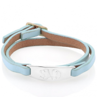 $9.99 Shipped: Personalized Wrap Bracelet