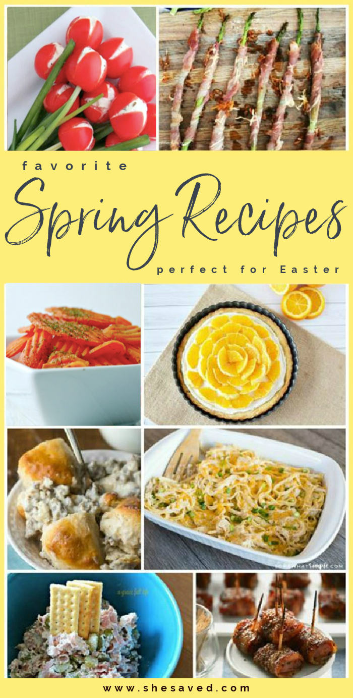 Spring Recipes for Easter