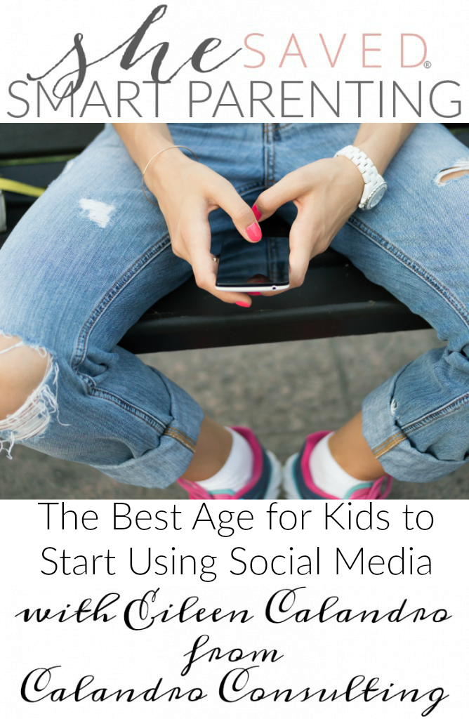It's so hard to know what The Best Age for Kids to  Start Using Social Media is, but this article by Eileen Calandro will help give you insight!