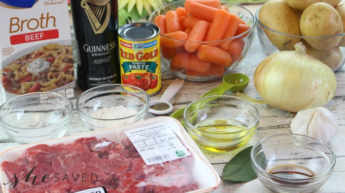 Irish Beef Stew Ingredients