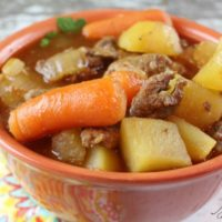Slow Cooker Recipe for Irish Beef Stew with Guinness