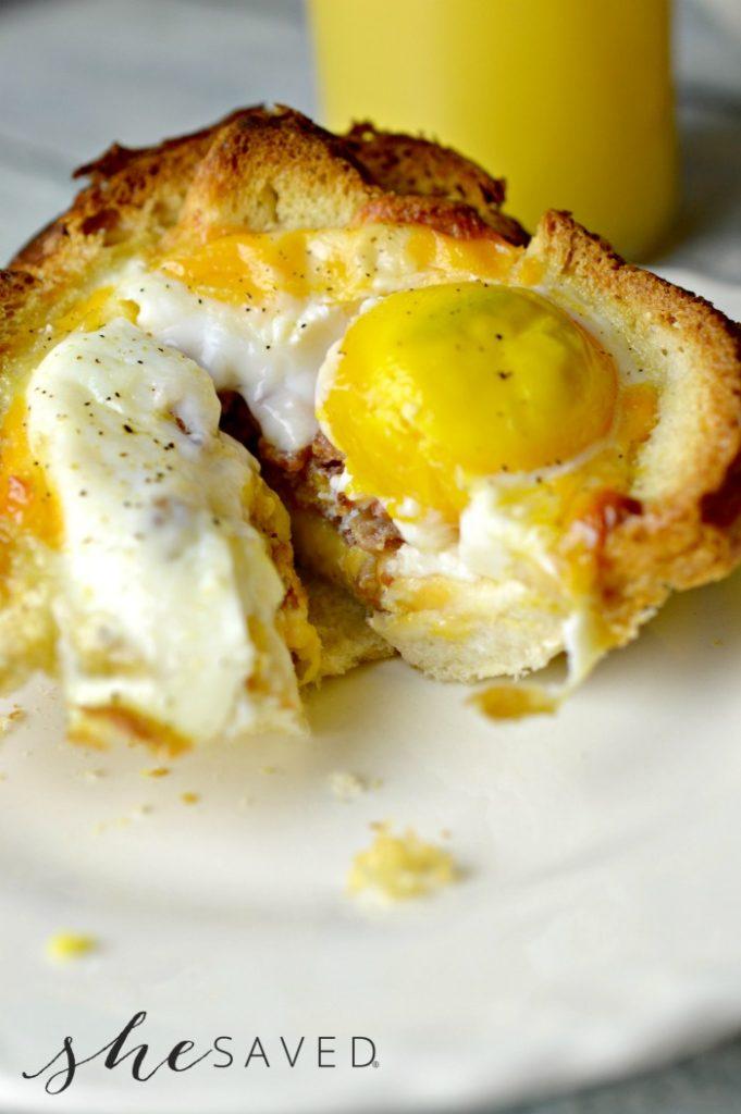 Muffin Tin Eggs