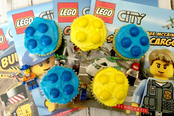 LEGO Cupcakes for your LEGO Themed Party