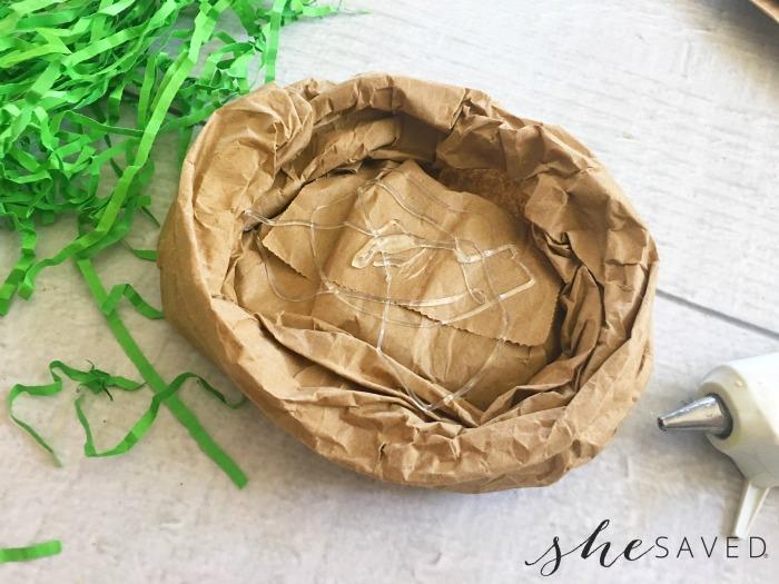 Glue in Paper Bag