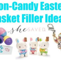 Non Candy Easter Basket Filler Ideas
