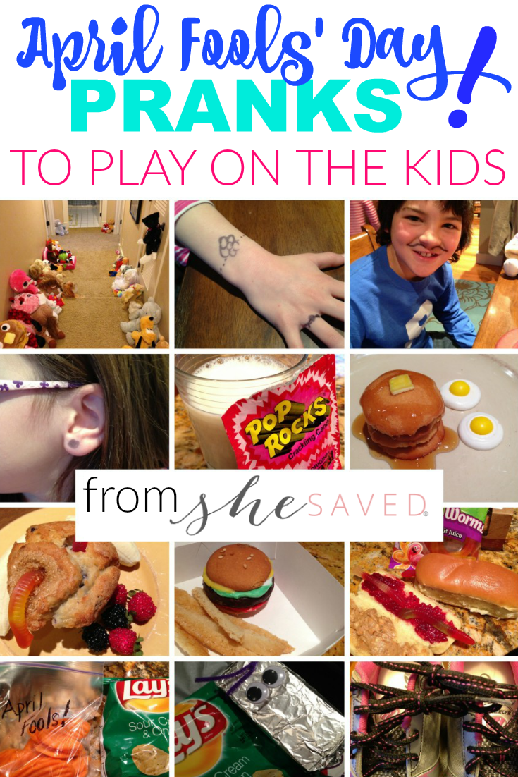 Looking for fun ways to Prank the Kids for April Fools' Day? Here are some of our favorite kid friendly pranks!