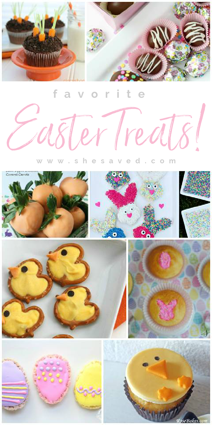 Cute Easter Treats and Dessert Snack Ideas