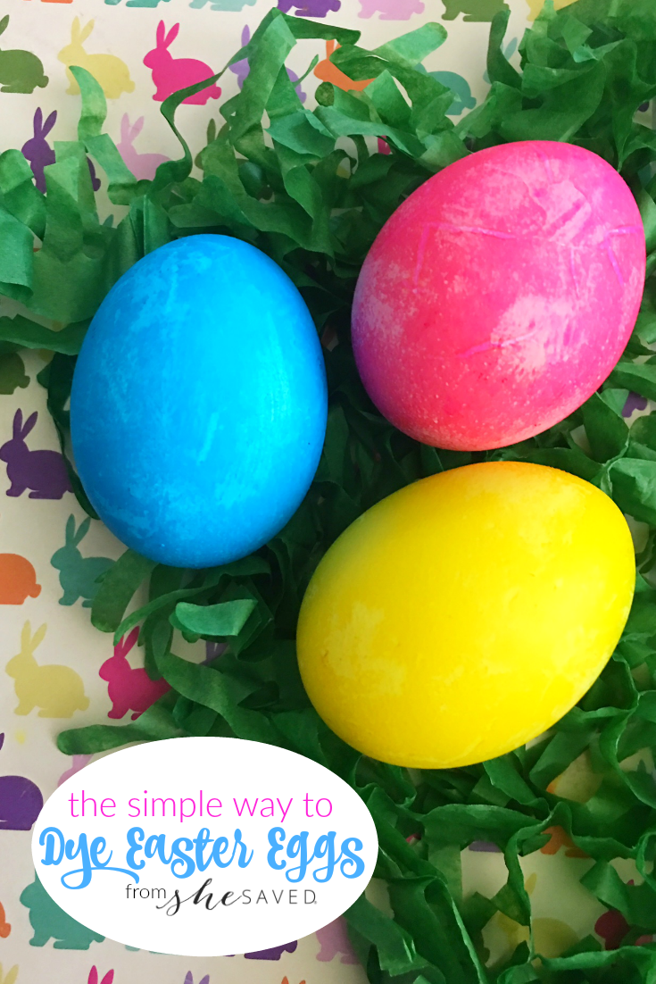 Keep things simple with these easy recipe for Dyeing Easter Eggs