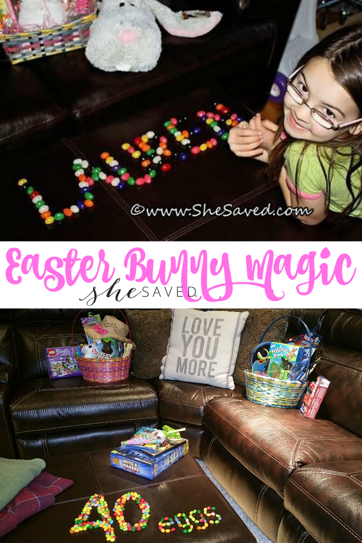 Easter doesn't have to be expensive, in fact... some of the most simple ideas can add to the Easter Bunny Magic!