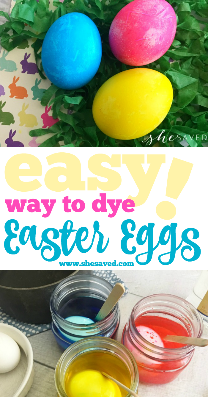 Easy Easter Egg Dye