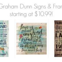 P. Graham Dunn Signs and Frames starting at $10.99!