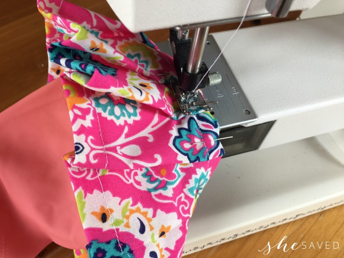 Sewing Ruffle on Gloves