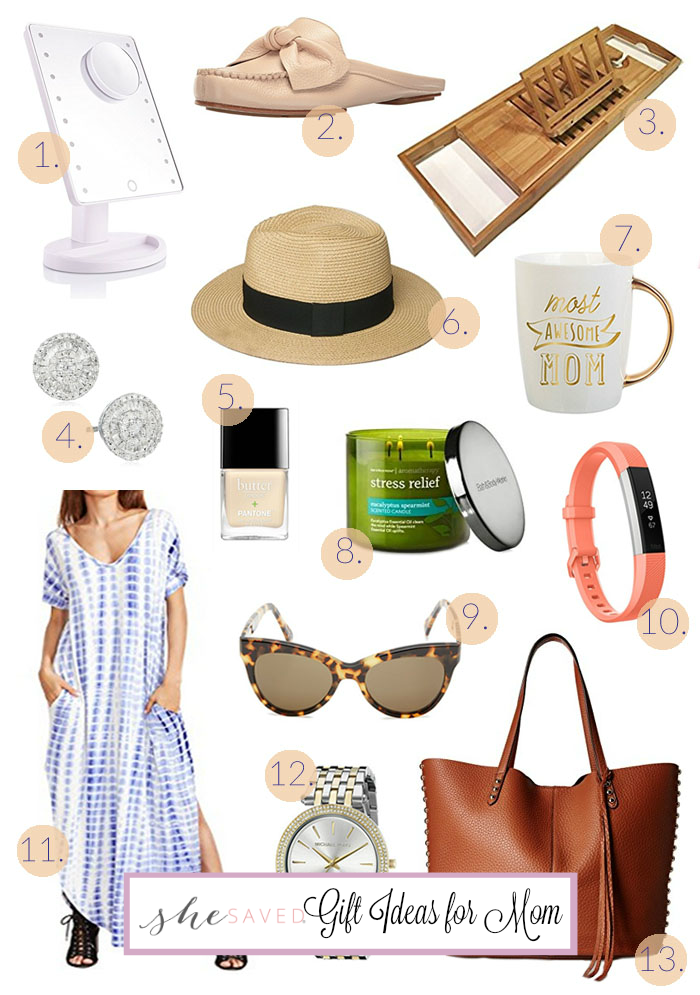 A wonderful round up of Gift Ideas for Mom OR things to add to your mom wish list!