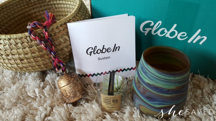 Globe In Subscription Box
