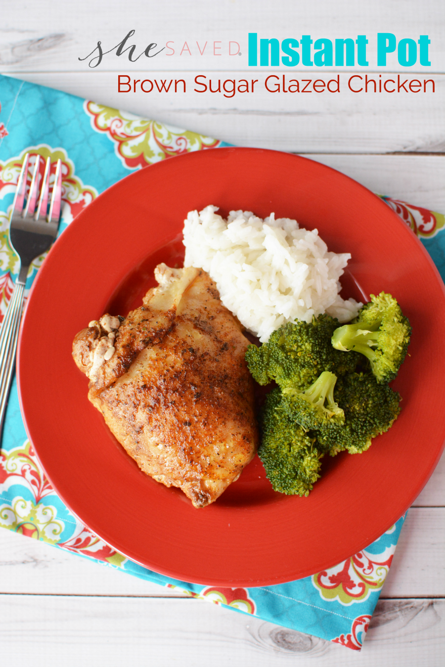 Another Instant Pot recipe to make your life easier! This Instant Pot Chicken Recipe is amazing and will become a family favorite dinner!