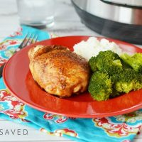 Instant Pot Recipe: Brown Sugar Glazed Chicken