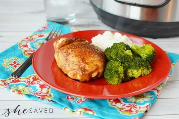 Instant Pot Recipe: Brown Sugar Glazed Chicken