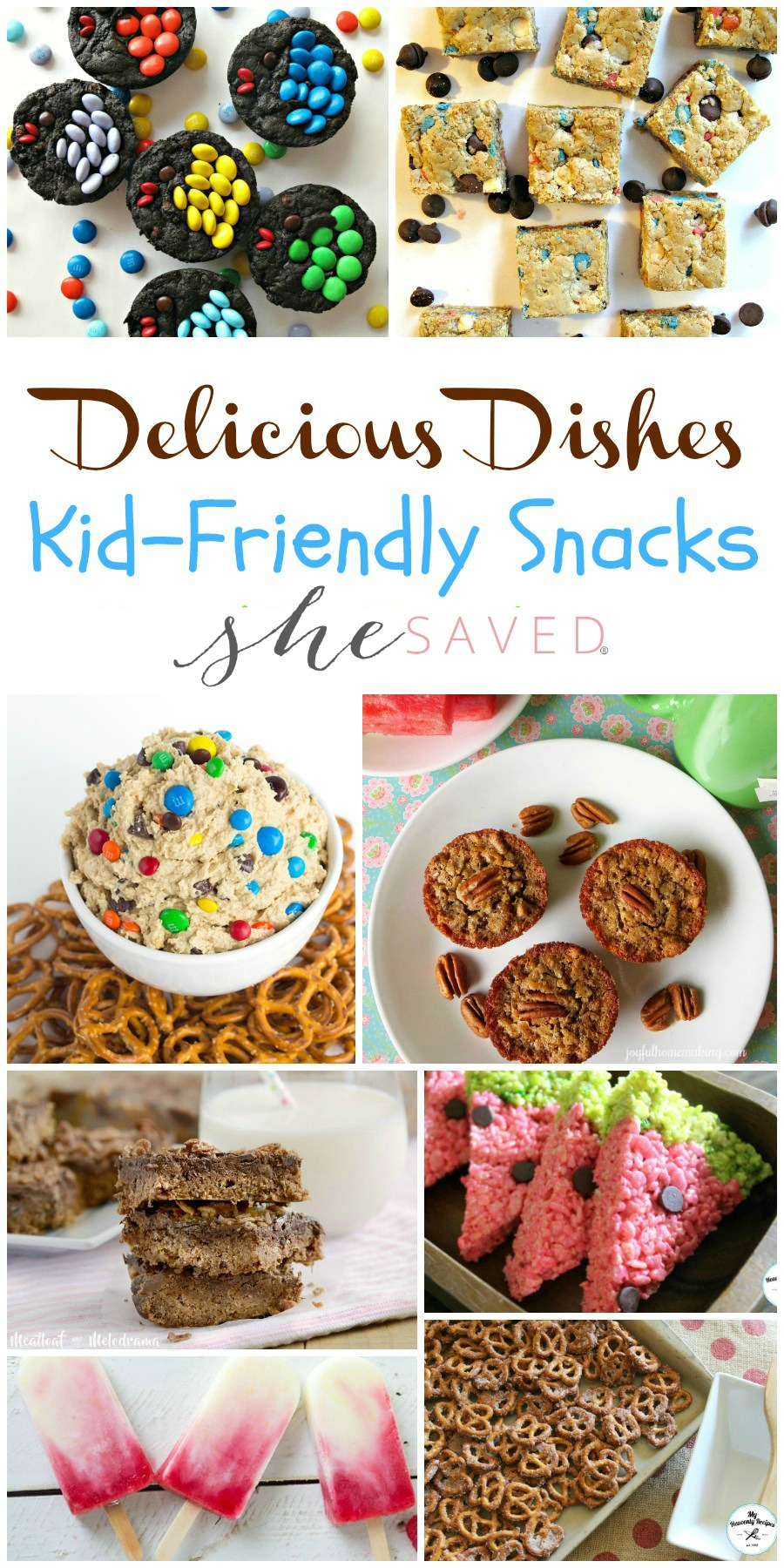 Here's a fun list of kid friendly snacks that will come in really handy for summer parties and picnics and even for back to school!