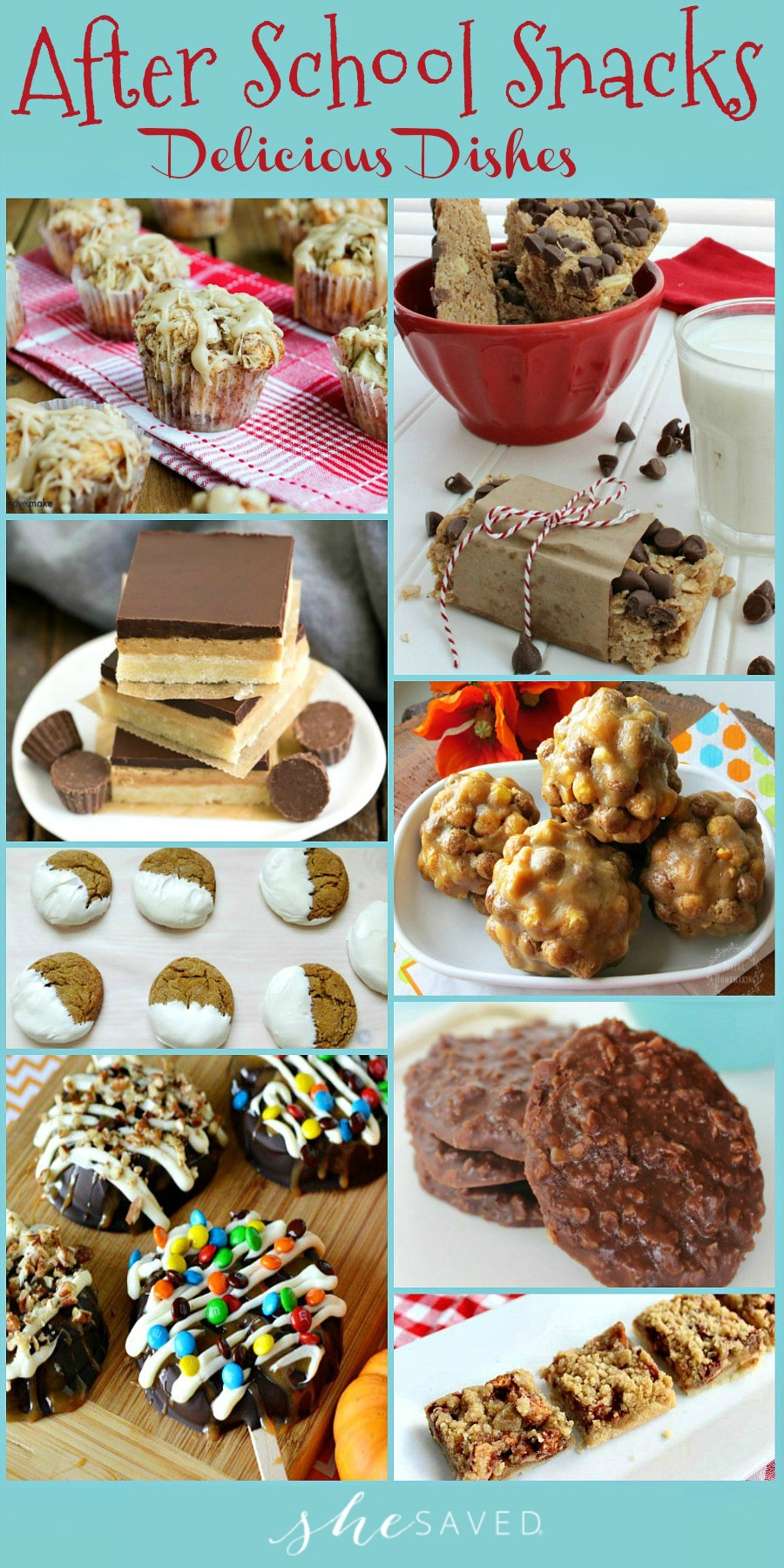 Save this awesome round up of after school snacks to reward your kiddos after school! Mom win!