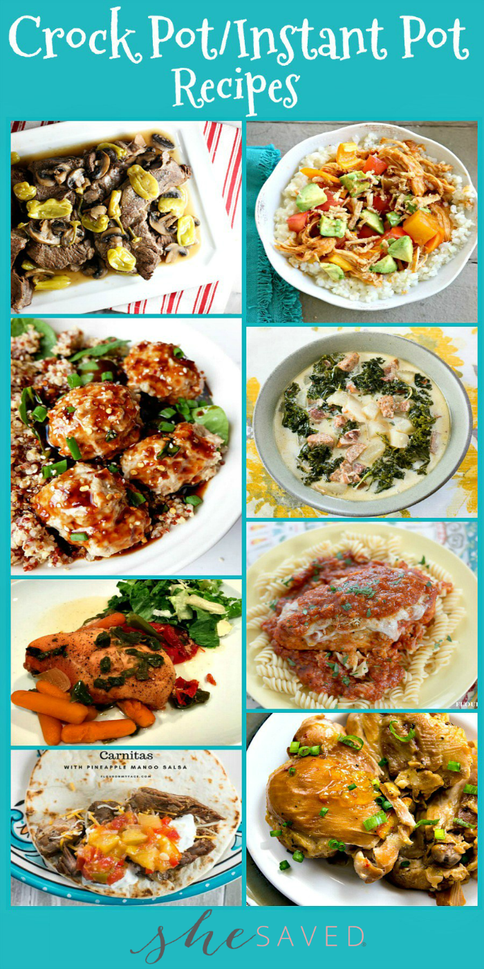 These instant pot recipes will be a hit with your family!