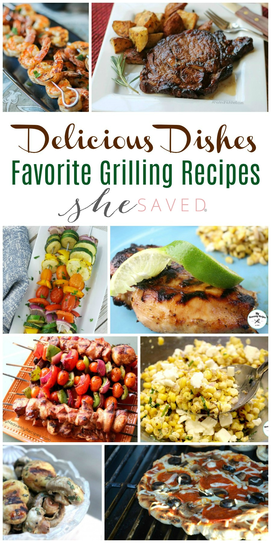 Looking to grill this summer? Check out these Favorite Grilling Recipes and you will be set for the summer!