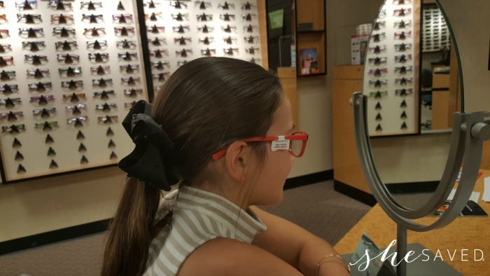 JCPenney Optical: Our Mother Daughter Shop for Back to School Glasses!