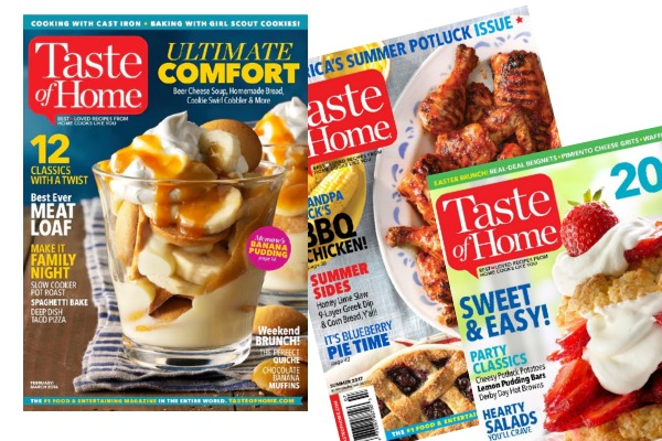 RARE! Taste of Home Magazine Deal: FOUR Years for Just $15!