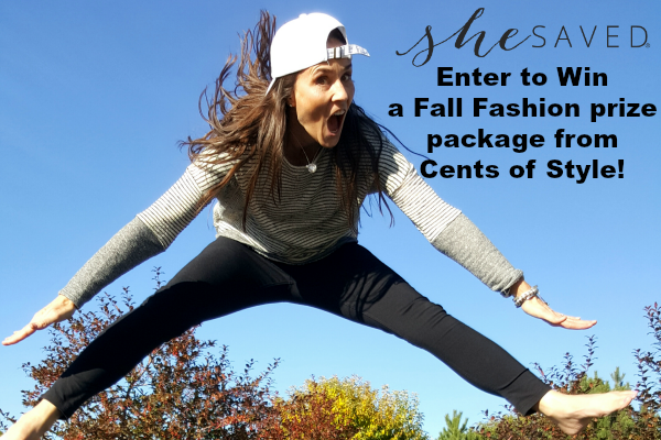 Enter to Win FIVE Fall Fashion Items from Cents of Style