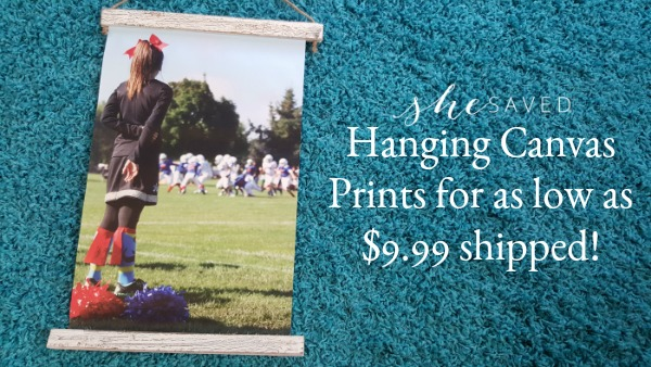 GREAT Gift Idea! $9.99 Hanging Canvas Prints OR Shaped PhotoBoards + FREE Shipping!!