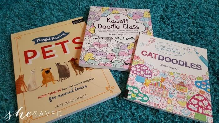 Kawaii Doodle Class + Other Fun Drawing Books for Kids!