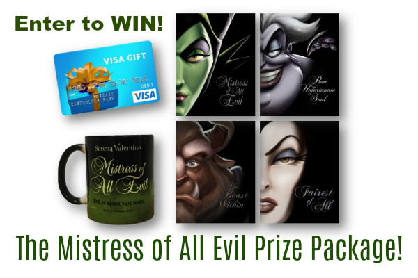 Mistress of All Evil Book + $100 Visa GC Giveaway! #MistressOfAllEvil