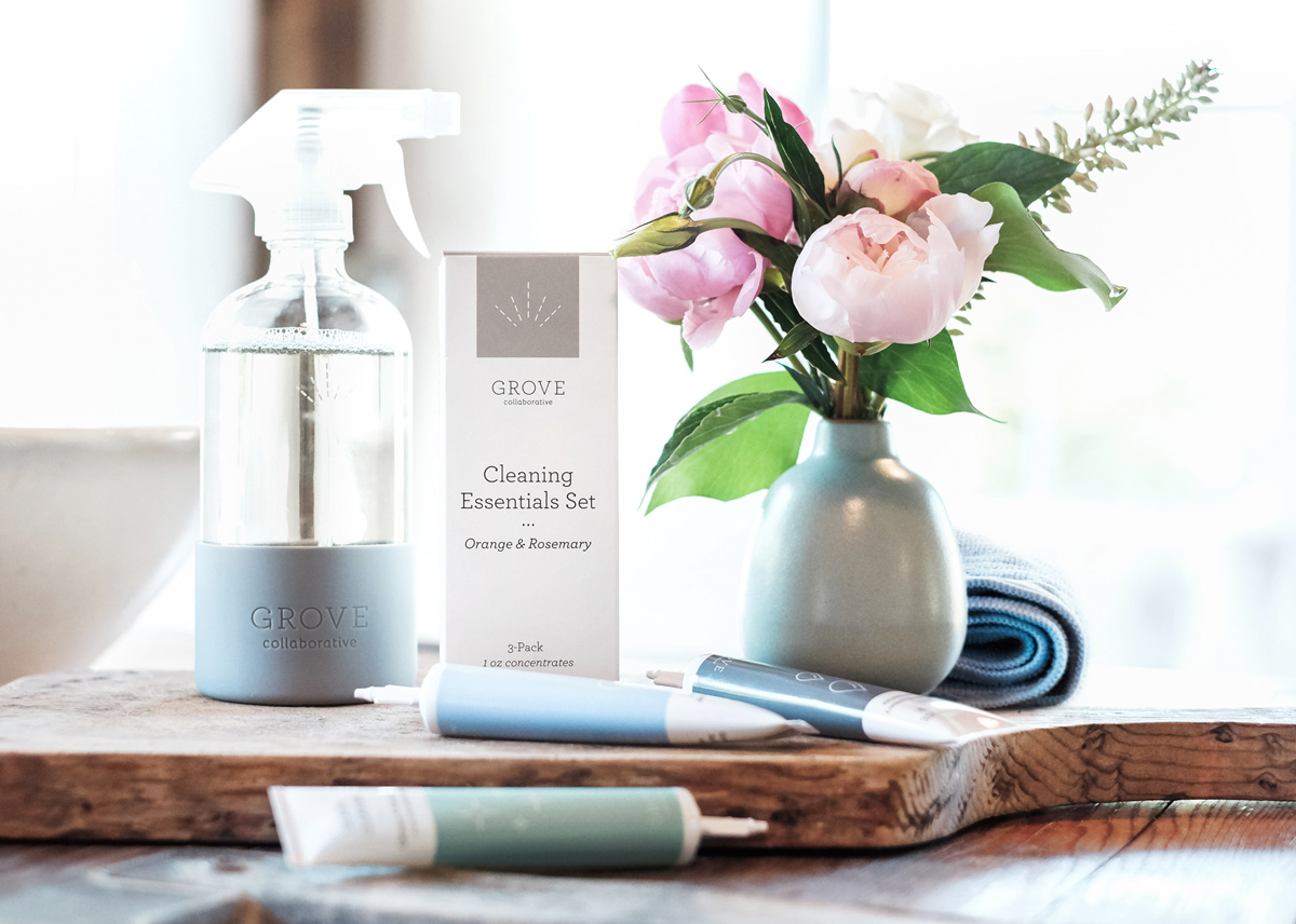 Cleaning Essentials from Grove: Over $50 Worth of FREE for $20+ FREE Shipping