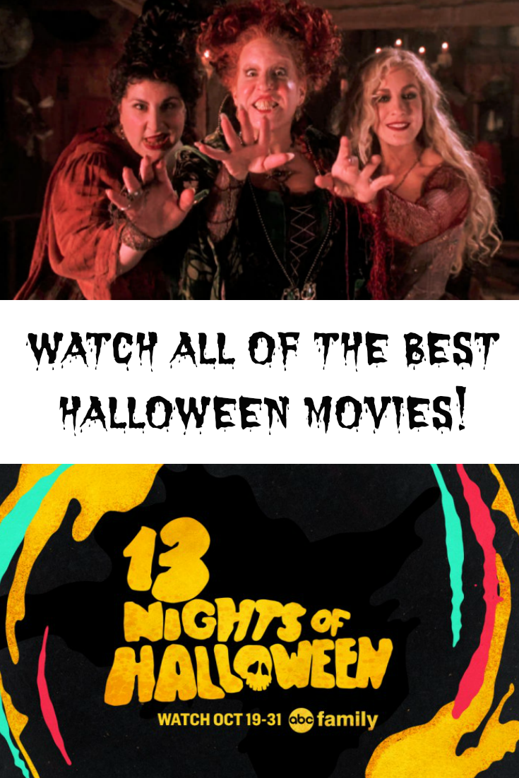 Freeform Presents the 13 Nights of Halloween Movie Schedule 2017 ...