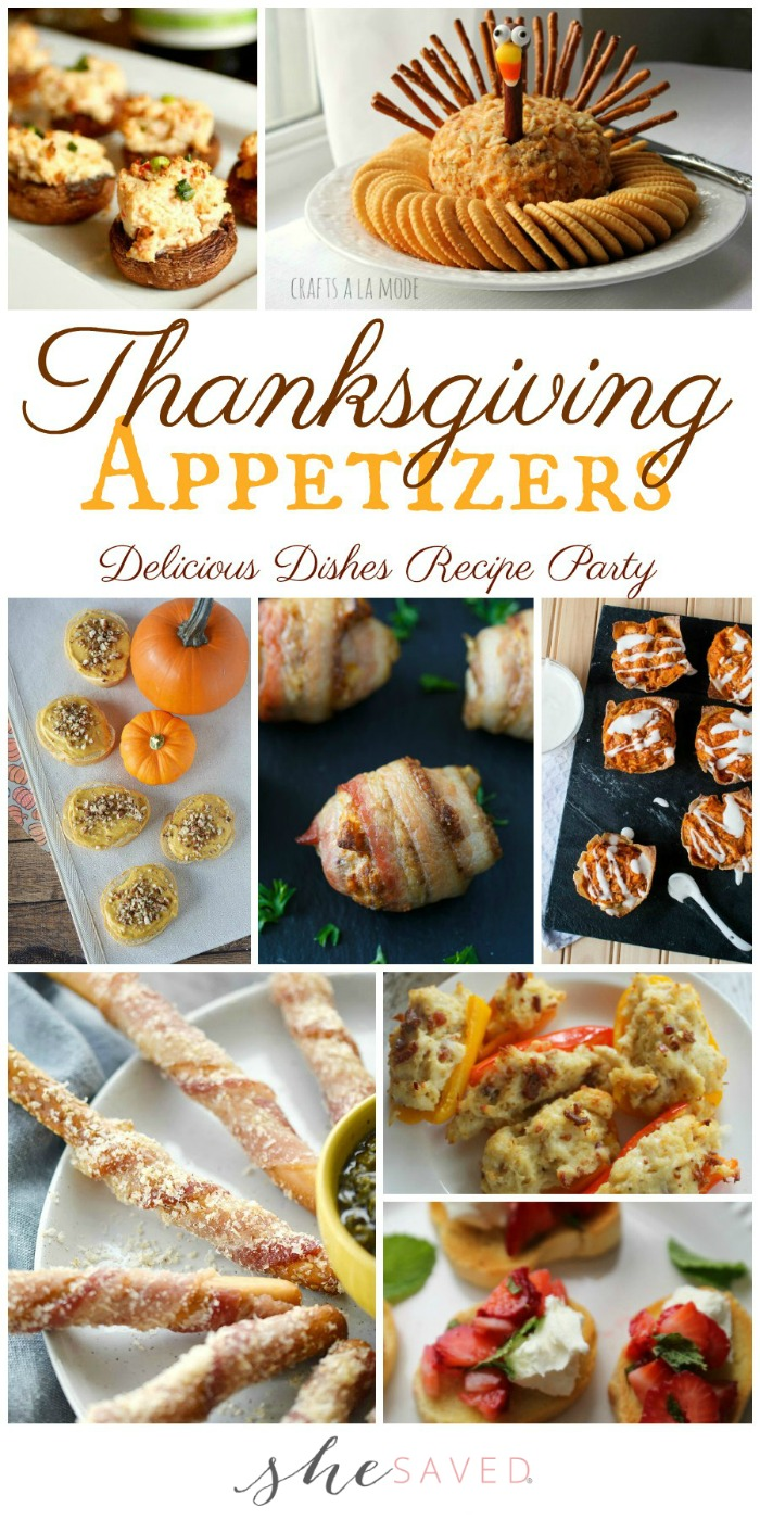 These delicious Thanksgiving appetizer recipes will be a hit at your Thanksgiving dinner!