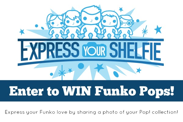 Express Your Shelfie (for a chance to win!) PLUS Funko Pop! Giveaway!