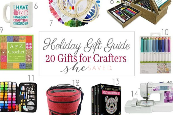 HOLIDAY GIFT GUIDE: Gifts for Crafters