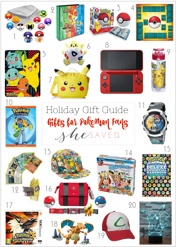 Find just the right thing for your little gamer in my gifts for Pokemon fans gift round up!