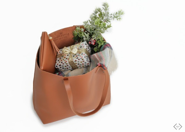 Vegan Leather Tote Bag $39.99 + FREE Gift + FREE Shipping!