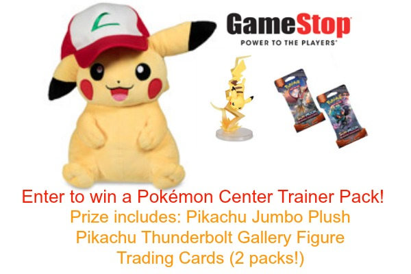 Pokémon Center at GameStop + GIVEAWAY!!