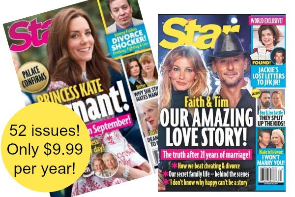 Star Magazine Only $9.99 per Year (94% Off!)