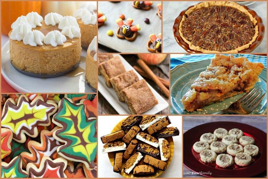 Thanksgiving Desserts we LOVE