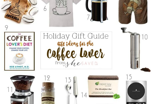 HOLIDAY GIFT GUIDE: Gifts for the Coffee Lover