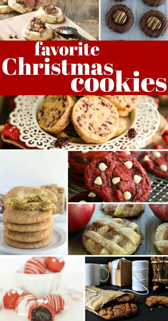 favorite Christmas Cookies Recipes