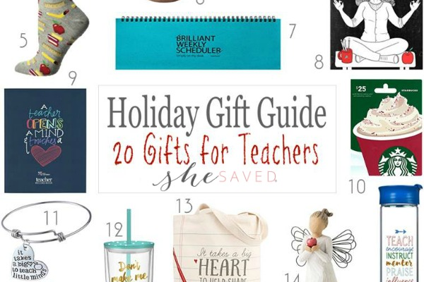 HOLIDAY GIFT GUIDE: Gifts for Teachers
