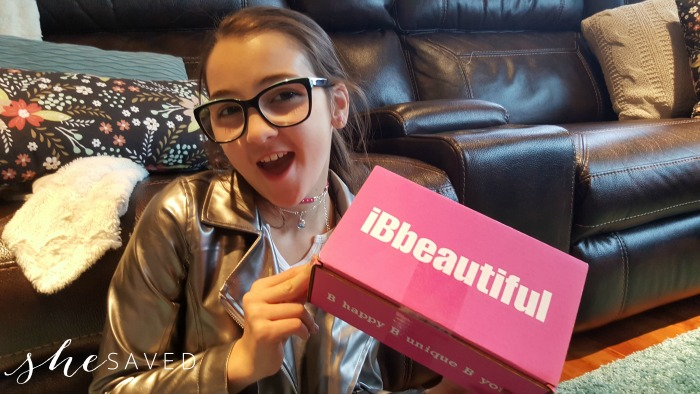 GREAT Gift Idea: iBbeautiful Subscription Box for Girls